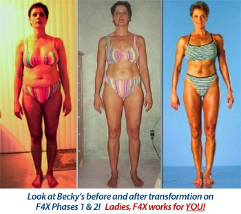 Old School New Body becky Holman before after