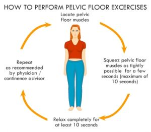 Pelvic muscle exercises
