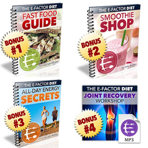 E-Factor Diet 4 Bonuses