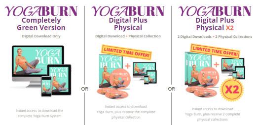 Yoga Burn DVD