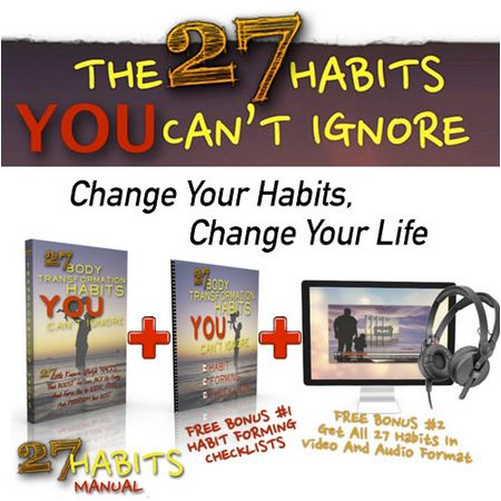 27 Body Transformation Habits PDF